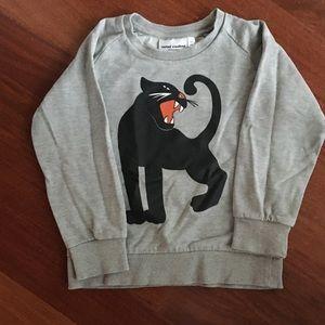 Fierce panther sweat shirt